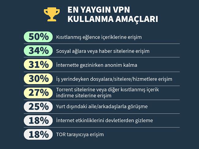 Infographic neden bir vpn kullandığınızı