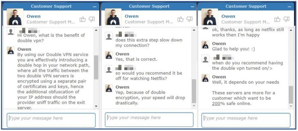 NordVPN Customer Service Chat
