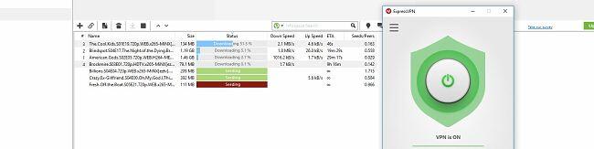 ExpressVPNはTorrentで動作します
