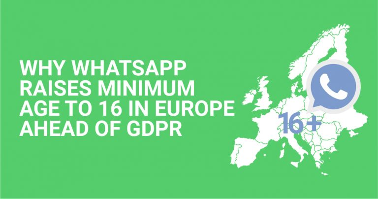 Why WhatsApp Raises Minimum Age to 16 in Europe Ahead of GDPR
