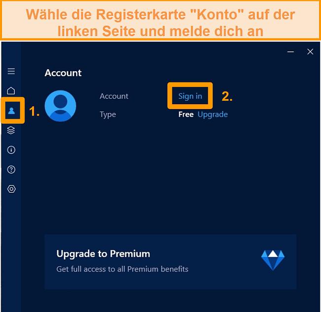 Screenshot des Hotspot Shield-Installation Bildschirms unter Windows.