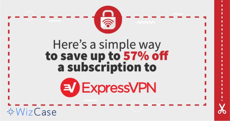 ExpressVPN Coupon – Save up to 57% (Tested it & it works) Wizcase