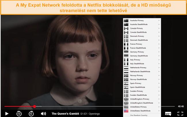 Pillanatkép a My Expat Networkingről, amely feloldja a Netflix US alkalmazást