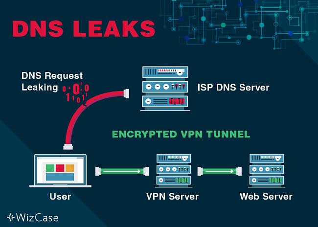 Capture d'écran de la fuite de requête DNS