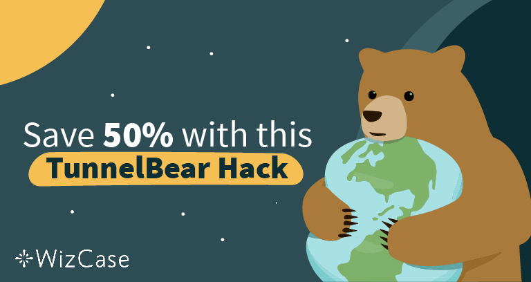 Real 50% off Coupon for TunnelBear & How to Spot the Fakes Wizcase