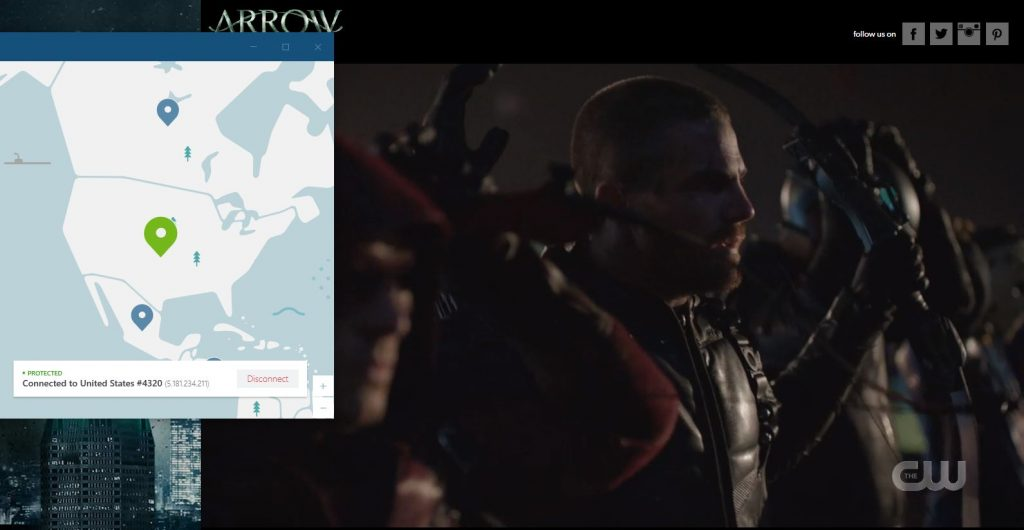 How to Watch Arrow with NordVPN