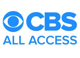 Screenshot of CBS All Access logo