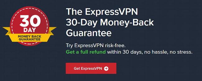 ExpressVPN pengene tilbake-garanti