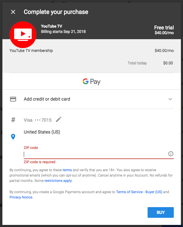 How to Stream Youtube TV from Outside the US