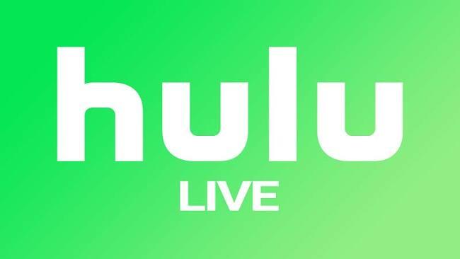 Screenshot of Hulu with Live TV logo