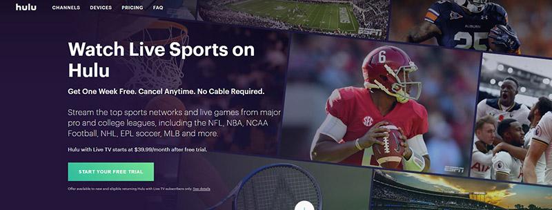 Stream ESPN on Hulu Live