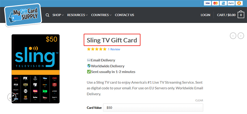 Watch Sling TV Without an American Credit Card