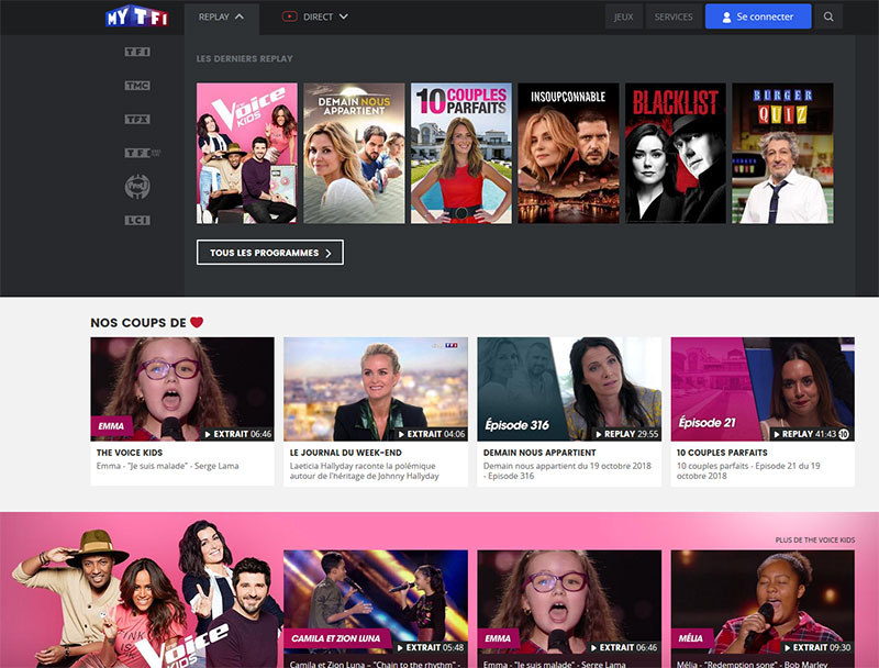 Watch TF1 France