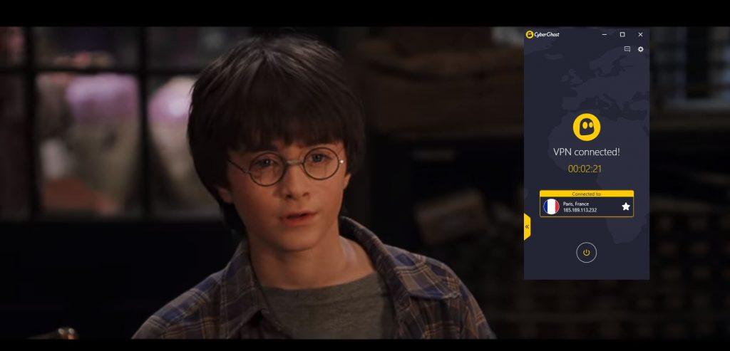 Harry Potters CyberGhost VPN