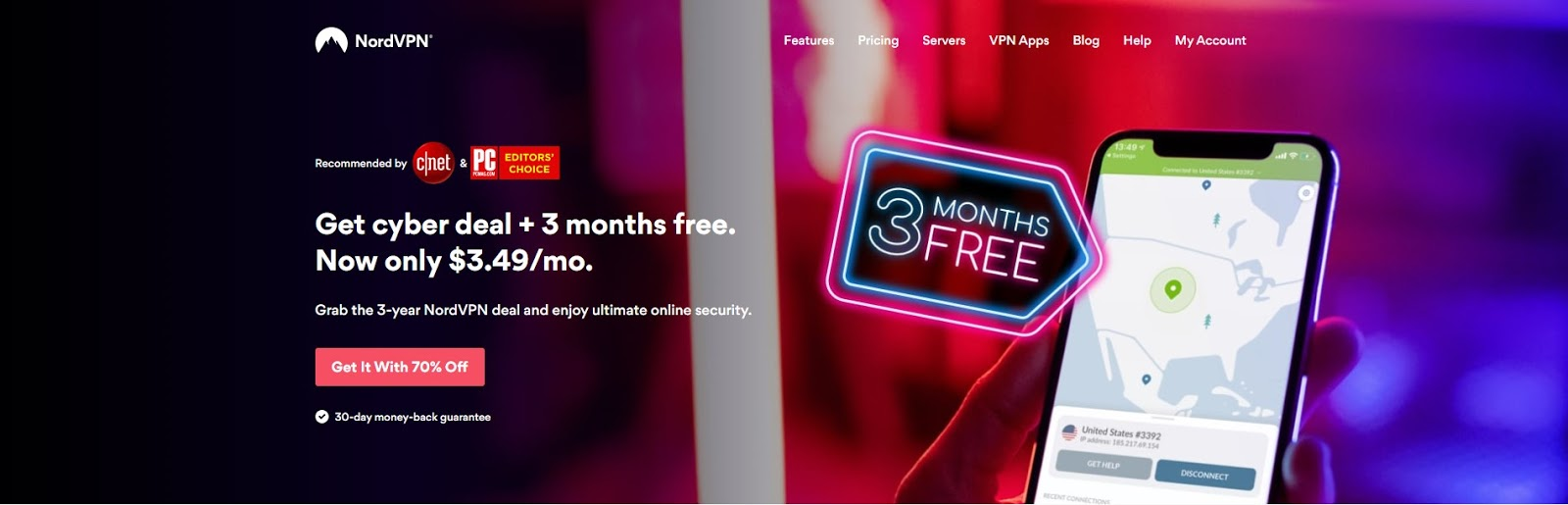 nordvpn black friday cyber monday discount