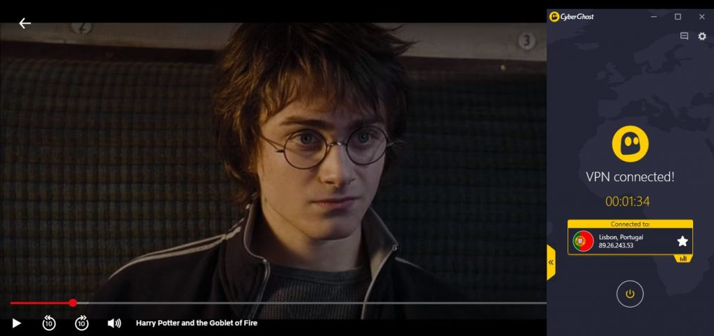 Watch Harry Potter with CyberGhost