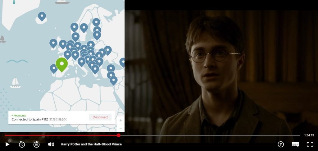 Watch Harry Potter with NordVPN