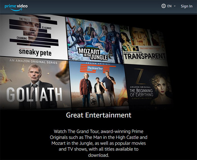 Amazon Prime Videoで使用するのに最適なVPN
