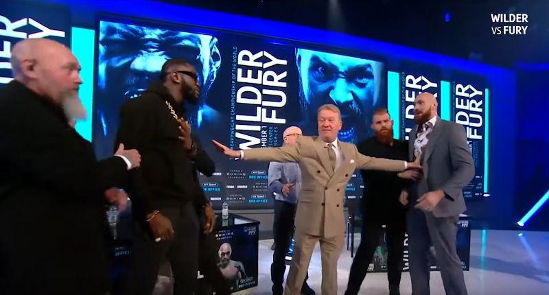 Boxing Deontay Wilder vs. Tyson Fury Dec 1st
