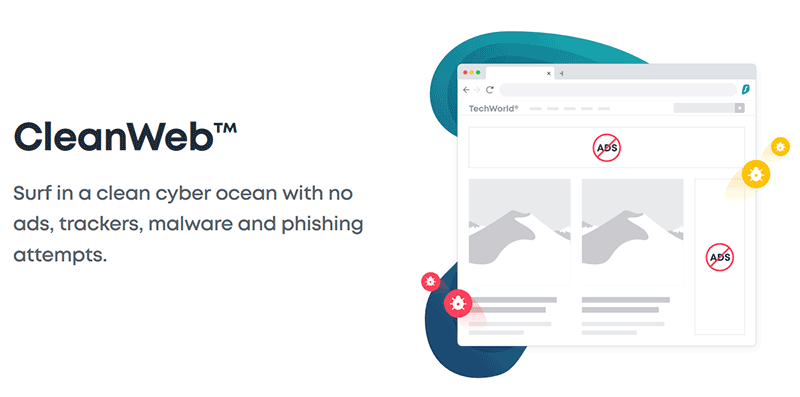 CleanWeb SurfShark VPN