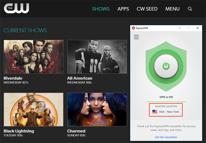 Watch the CW from Anywhere with ExpressVPN
