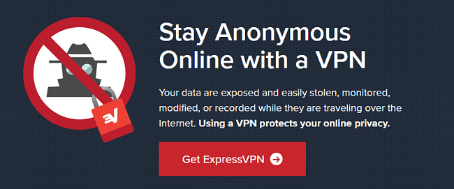 ExpressVPN stay anonymous