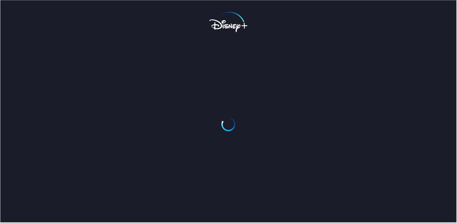 Screenshot of Norton Secure VPN unable to unblock Disney+ with infinite loading on a blank screen
