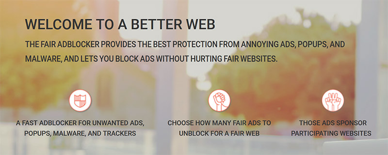 Stands Fair AdBlocker