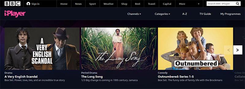 BBC iPlayer TV vpn