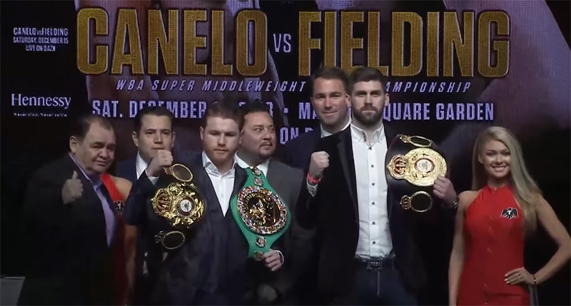 Canelo vs. Fielding boxing stream online vpn