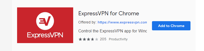 Chrome 용 ExpressVPN-Chrome 스토어