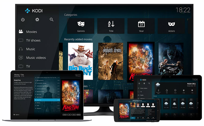 Kodi add ons entertainment tv