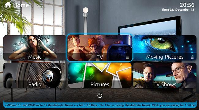 Media Portal TV Series, Movies, Photos and Music