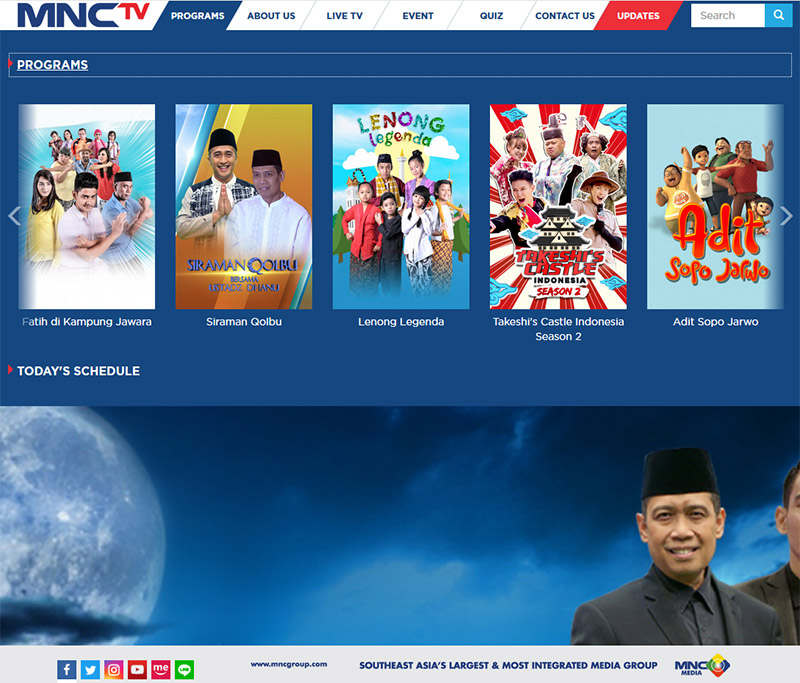 MNCTV TPI Televisi Keluarga Indonesia
