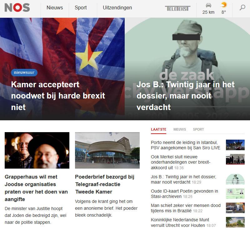 Nederlandse Omroep Stichting (NOS) best VPN