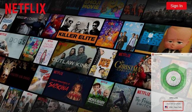 παρακολουθήστε Netflix με ExpressVPN