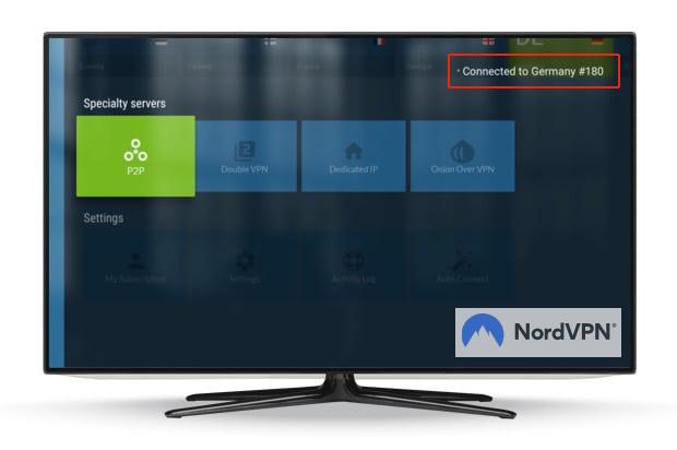 NordVPN TV online