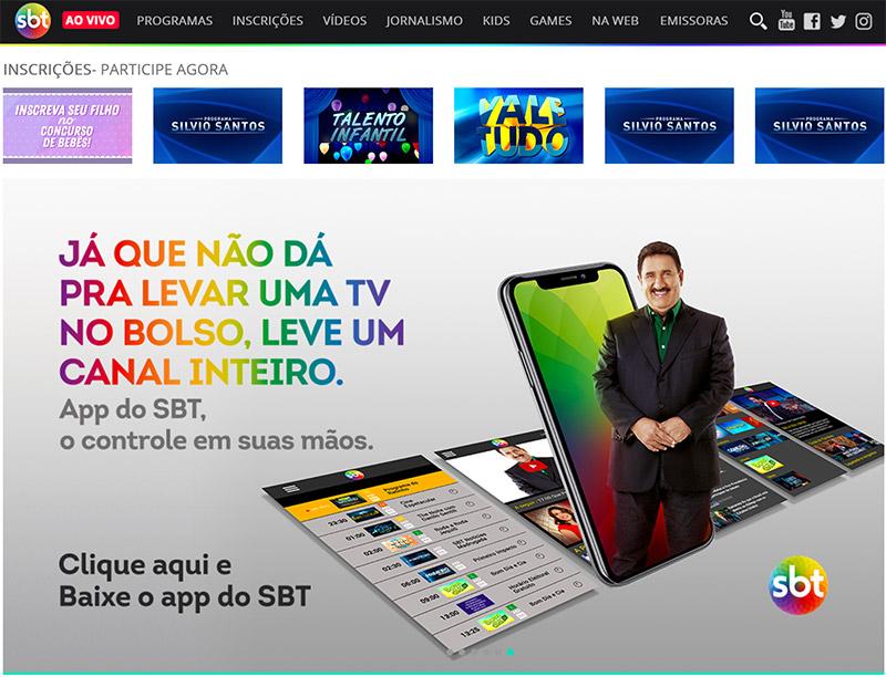 Sistema Brasileiro de Televisao (SBT) stream online anywhere vpn
