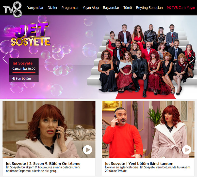 TV8 Turkish best show online VPN