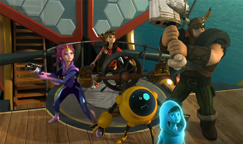 Zak Storm Super Pirate online vpn solution