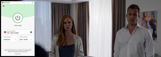 Season 9 Suits on Netflix with ExpressVPN