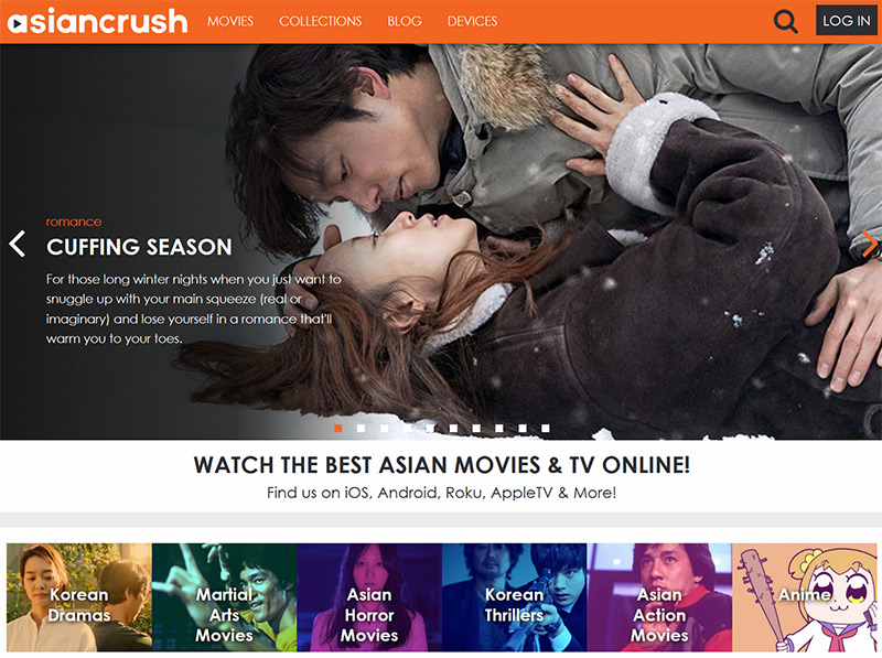 AsianCrush stream online vpn
