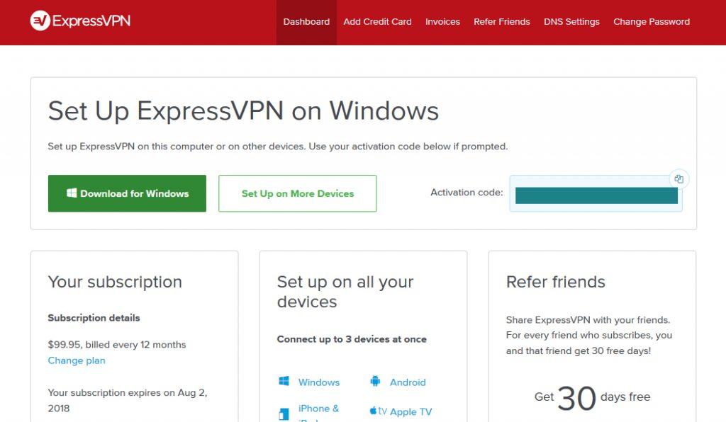 Installing ExpressVPN