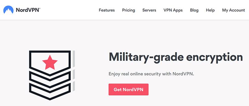 NordVPN military grade encryption