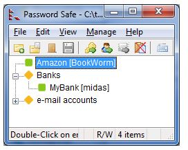 Password Safe way to store your online credentials