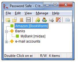 Password Safe way to store your online credentials