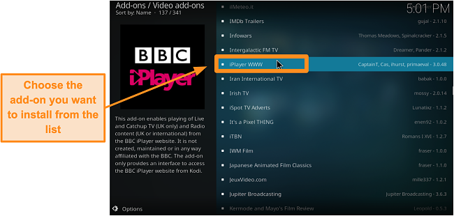 screenshot-of-how-to-install-official-kodi-addon-step-seven-find-your-desired-addon