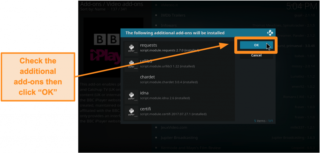 screenshot-of-how-to-install-official-kodi-addon-step-nine-check-additional-addons-then-click-ok