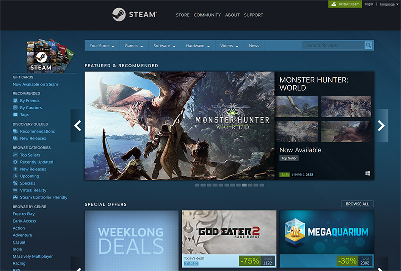 Steam games vpn
