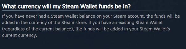 Steam currency